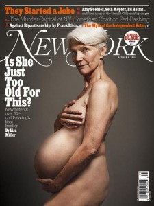 New York Magazine Cover Story: Is She Just Too Old For This?
