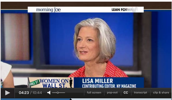 Lisa Miller on Morning Joe
