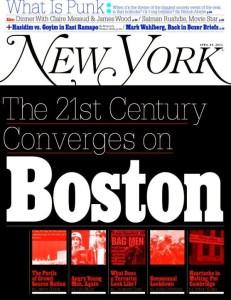 New York Magazine, April 29, 2013